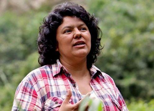 Berta Caceres, Prix Goldman 2015, assassinée en mars 2016 © Goldman Environmental Prize